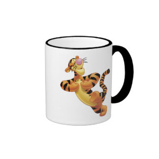 Winnie The Pooh's Tigger Dancing Ringer Coffee Mug