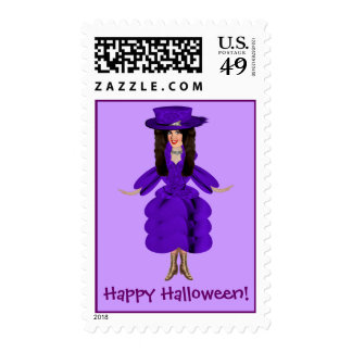 Winnifred the Good Witch Postage Stamps