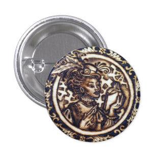 Winnifred the Steampunk Inventor Pin