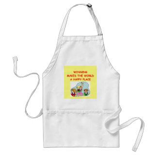 winning adult apron