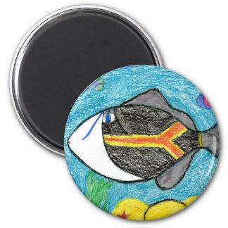 Winning art by  A. Fegers - Grade 4 Magnet