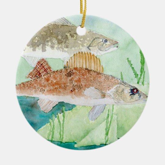 Winning art by  A. Fuss - Grade 8 Ceramic Ornament