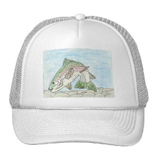 Winning art by  A. Sims - Grade 5 Mesh Hats