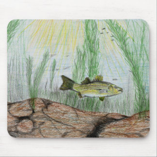 Winning Art By B. Selby Grade 4 Mouse Pad