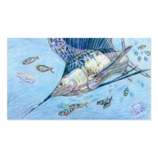 Winning art by  C. Huang - Grade 10 Business Card