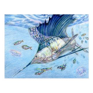 Winning art by  C. Huang - Grade 10 Postcard