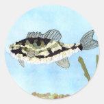 Winning art by  C. Saliga - Grade 4 Classic Round Sticker