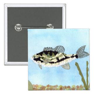 Winning art by  C. Saliga - Grade 4 Pinback Button
