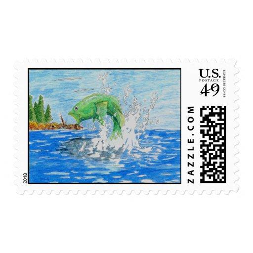 Winning Art By C. Starley Grade 7 Stamp