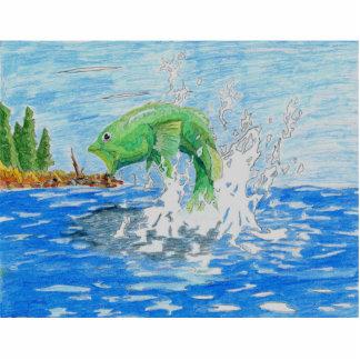 Winning Art By C. Starley Grade 7 Statuette