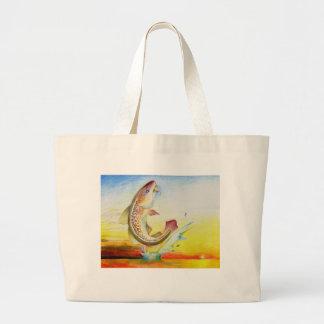 Winning Art By C. Sun Grade 7 Large Tote Bag