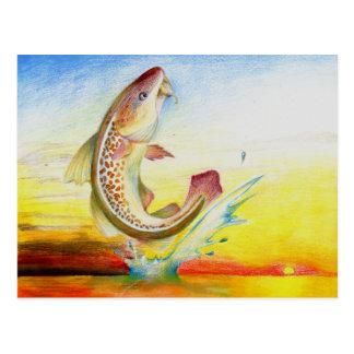 Winning Art By C. Sun Grade 7 Postcard