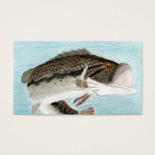 Winning art by  D. Gillett - Grade 9 Business Card