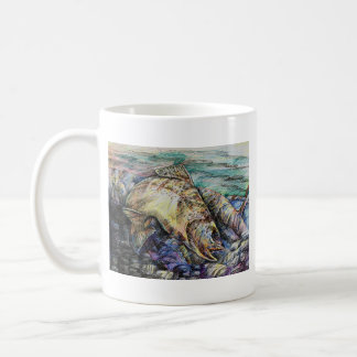 Winning Art By D. Lin  Grade 10 Coffee Mug