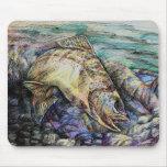 Winning Art By D. Lin  Grade 10 Mousepads