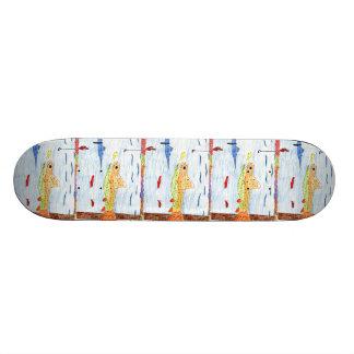 Winning art by  E. Hornacek - Grade 6 Skateboard Deck