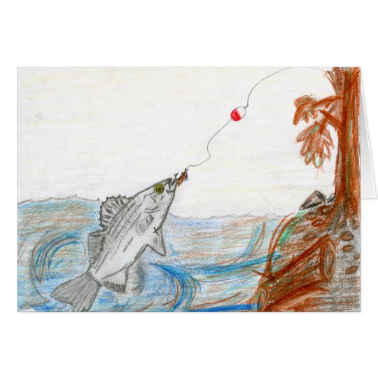 Winning art by  E. McKinney II - Grade 6 Card
