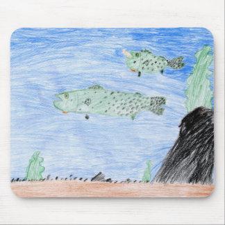 Winning art by  E. Riley - Grade 4 Mouse Pad