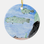 Winning art by  E. Riley - Grade 4 Christmas Ornaments