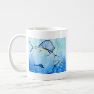 Winning Art by Ethan N. Grade 8 Coffee Mug