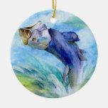 Winning art by  F. Wan  - Grade 7 Christmas Ornaments