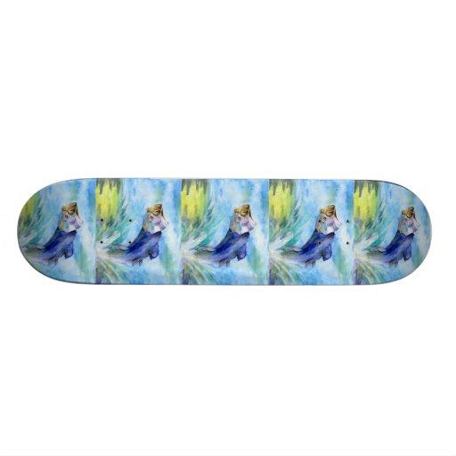Winning art by  F. Wan  - Grade 7 Skateboard Deck
