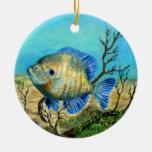 Winning art by  G. Barker - Grade 11 Double-Sided Ceramic Round Christmas Ornament