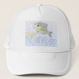 Winning art by  H. Wessel - Grade 6 Trucker Hat