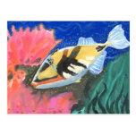 Winning art by  I. Liu - Grade 7 Post Card