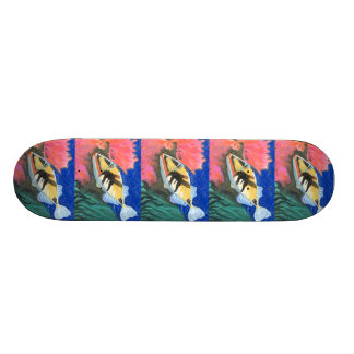 Winning art by I Liu - Grade 7 Skateboard Decks