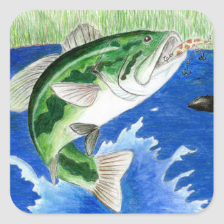 Winning art by  J. Compy - Grade 8 Square Sticker