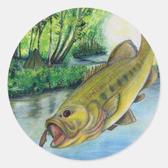 Winning Art By J. Davis Grade 11 Classic Round Sticker