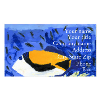 Winning art by  J. Geouge - Grade 5 Double-Sided Standard Business Cards (Pack Of 100)