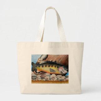 Winning Art By J. Jang Grade 6 Large Tote Bag