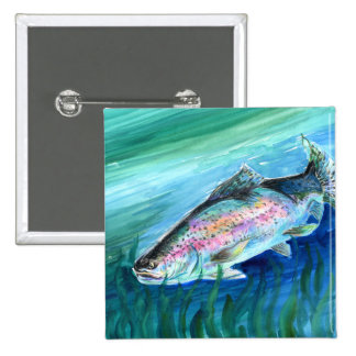 Winning Art By J. Lee Grade 6 Pinback Button