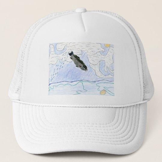 Winning art by  J. Osterday - Grade 6 Trucker Hat