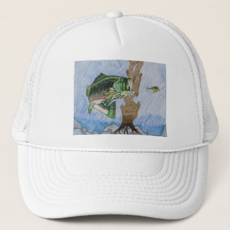Winning Art By J. Richardson Grade 9 Trucker Hat