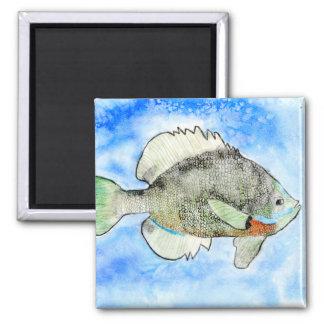 Winning art by  J. Seres - Grade 4 2 Inch Square Magnet
