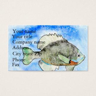 Winning art by  J. Seres - Grade 4 Business Card