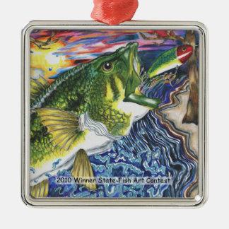 Winning Art By J. Skipper Grade 10 Metal Ornament