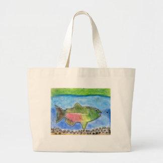 Winning Art By J. Wilson Grade 5 Large Tote Bag