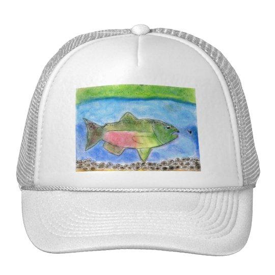 Winning Art By J. Wilson Grade 5 Trucker Hat