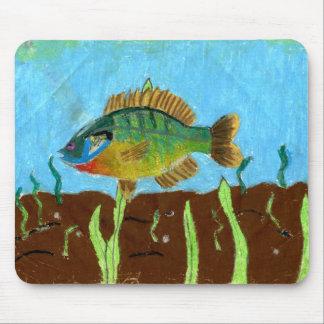 Winning art by  K. Benoit - Grade 4 Mouse Pad