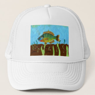 Winning art by  K. Benoit - Grade 4 Trucker Hat