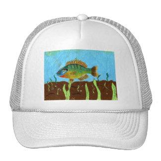 Winning art by  K. Benoit - Grade 4 Trucker Hat