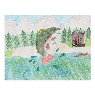 Winning Art By K. Kaichen Grade 5 Postcard