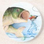Winning art by  K. Liu - Grade 10 Sandstone Coaster