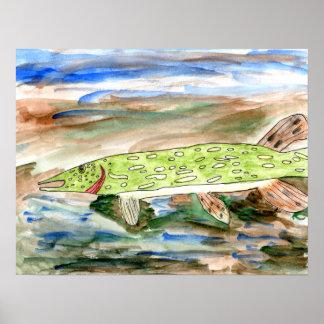 Winning art by  K. Nelsen - Grade 4 Print