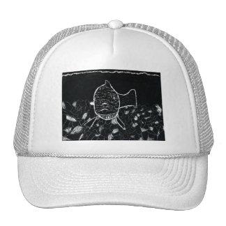 Winning art by  K. Petty - Grade 7 Trucker Hat