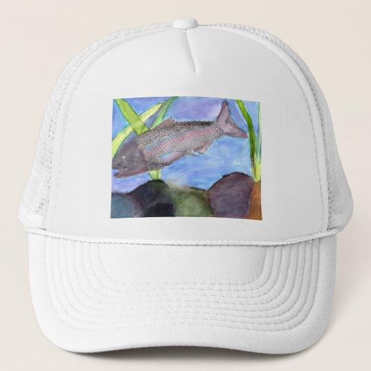 Winning art by  K. VonScheerSchmidt - Grade 5 Trucker Hat